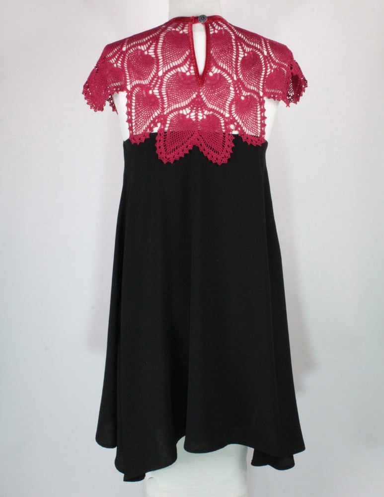 Image of Crimson and Noir Marybeth Dress