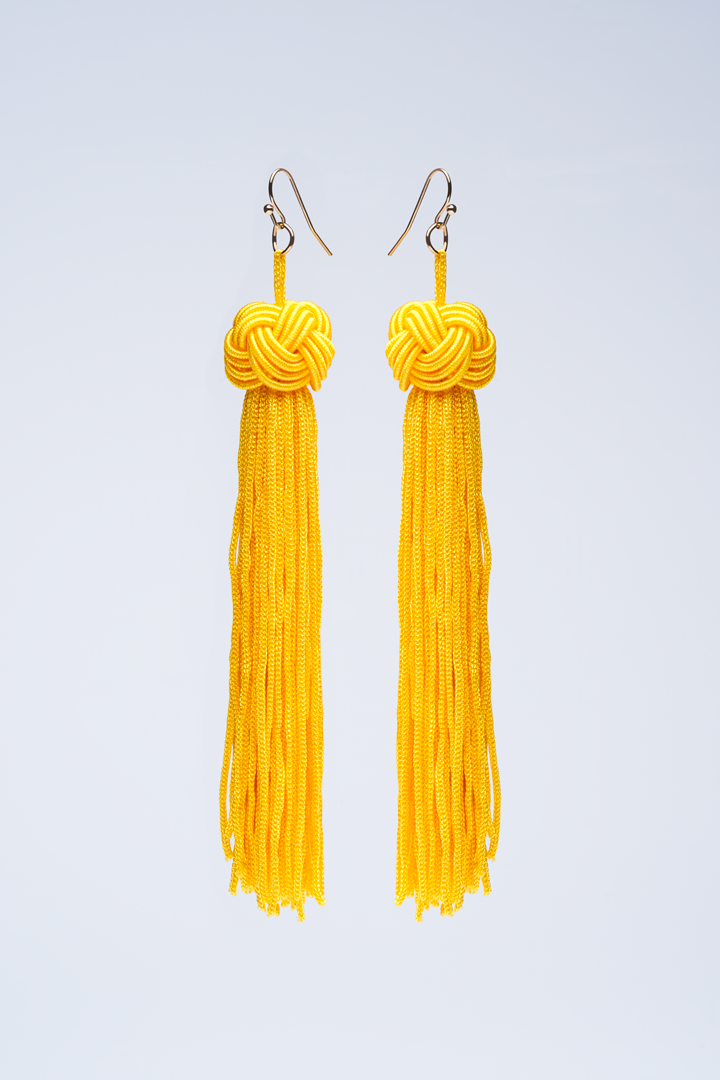 Image of Tassel Earrings (4 Colors)