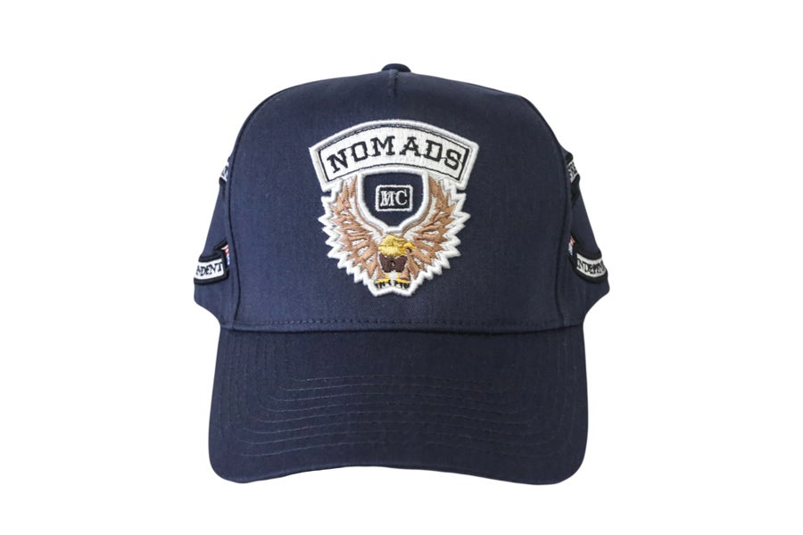 Image of Navy Blue Nomads Trucker Hat
