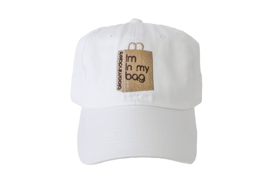 Image of White Im In My Bag Dad Hat