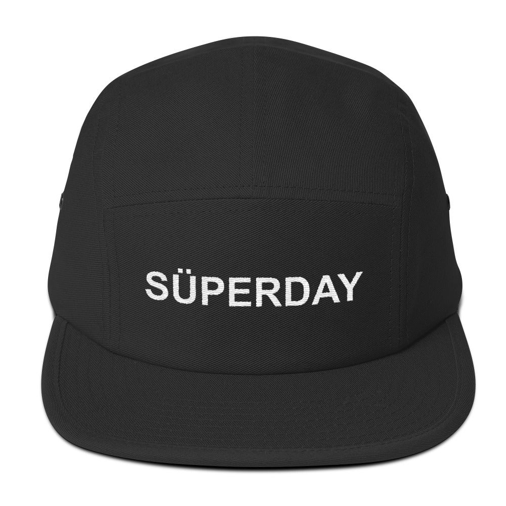 Image of süperday logo 5-panel cap