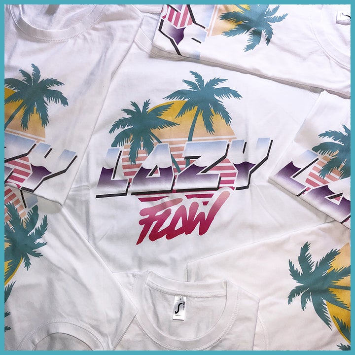 Image of Lazy Flow logo T-shirt