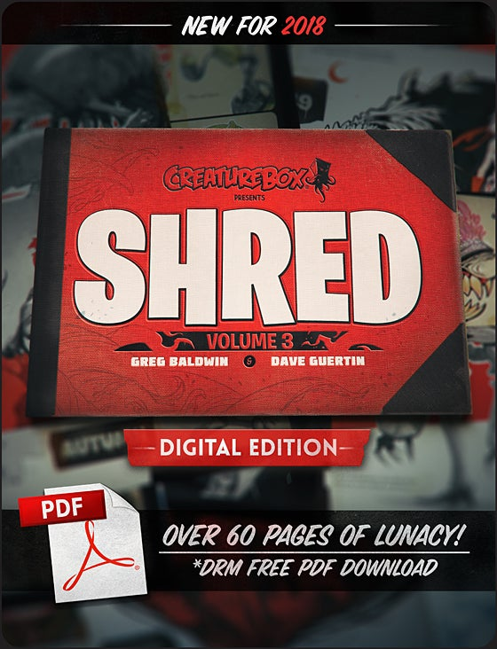 Image of SHRED: Volume 3 Digital Edition