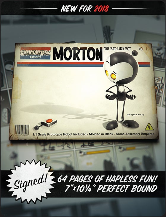 Image of Morton: The Bad Luck Bot