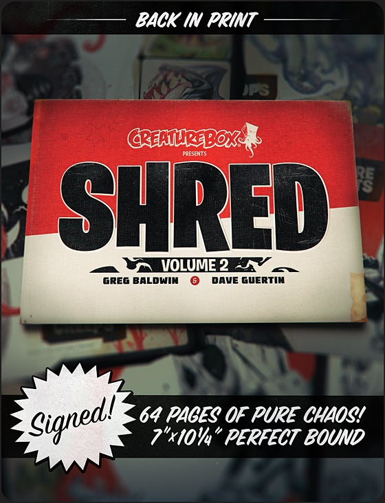 Image of SHRED: Volume 2 Print Edition
