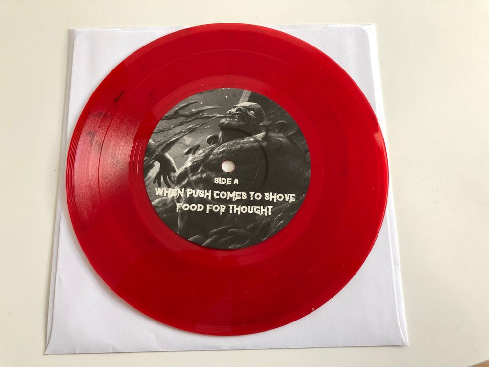 """CARNAL DECAY - When Push Comes To Shove """"7 (black OR red OR both)"""