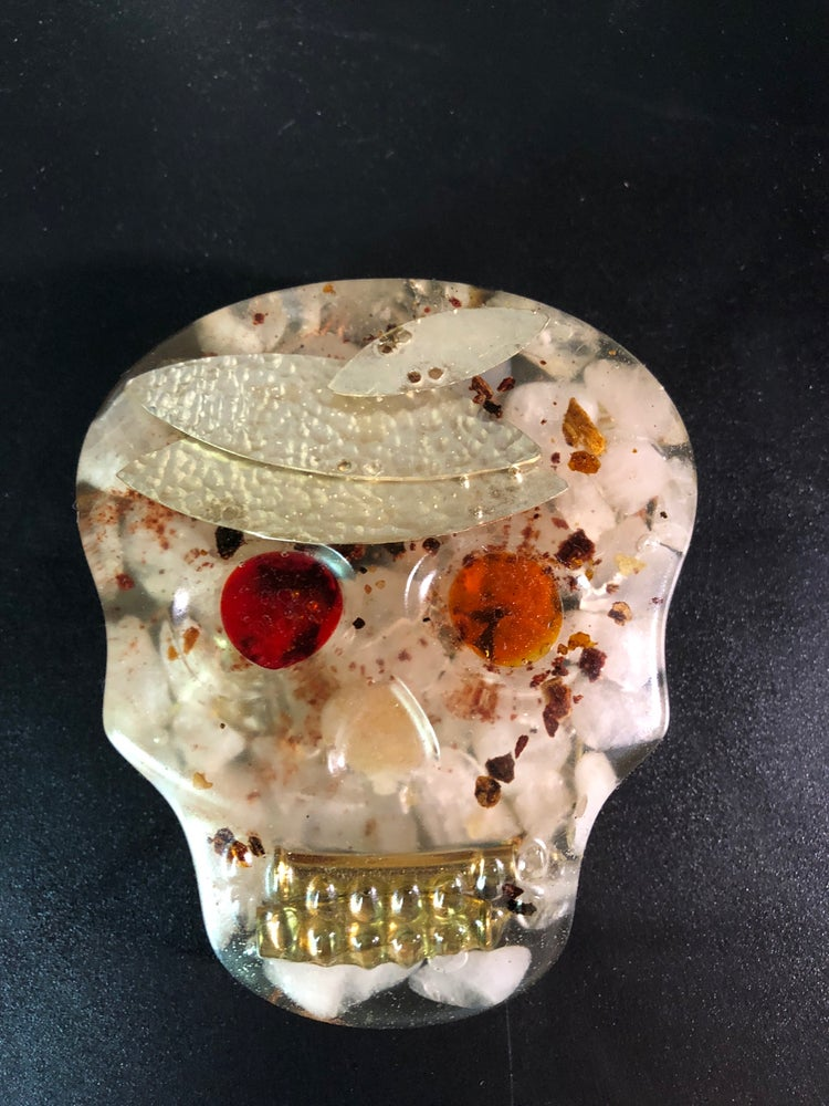 Image of Orgonite skull