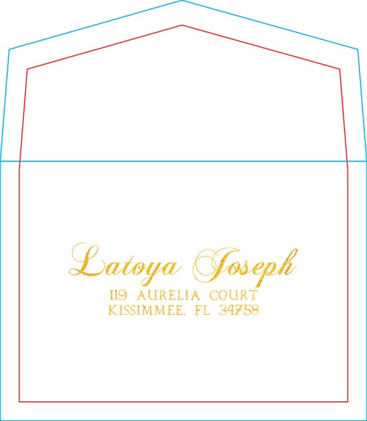 Image of Return Addressed Envelopes