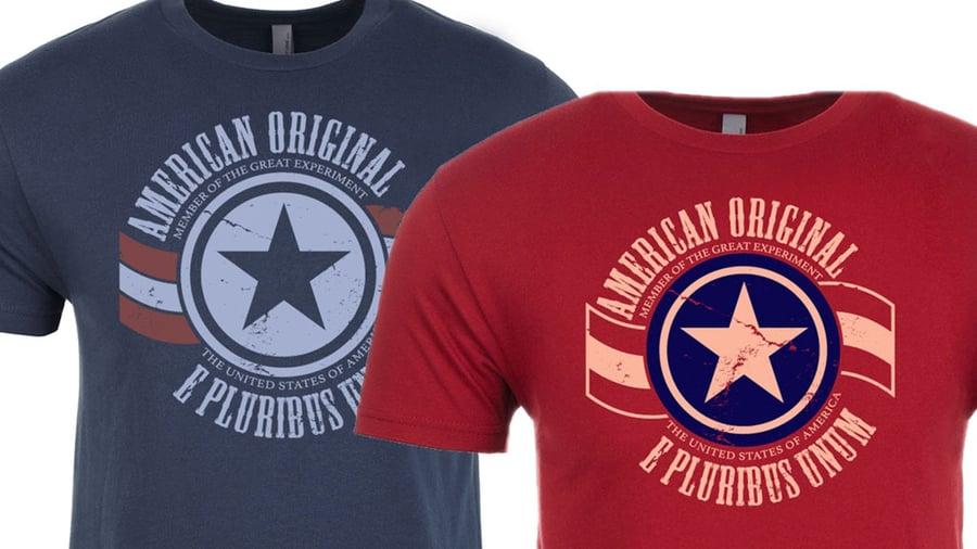 Image of American Original Short Sleeve (Blue)
