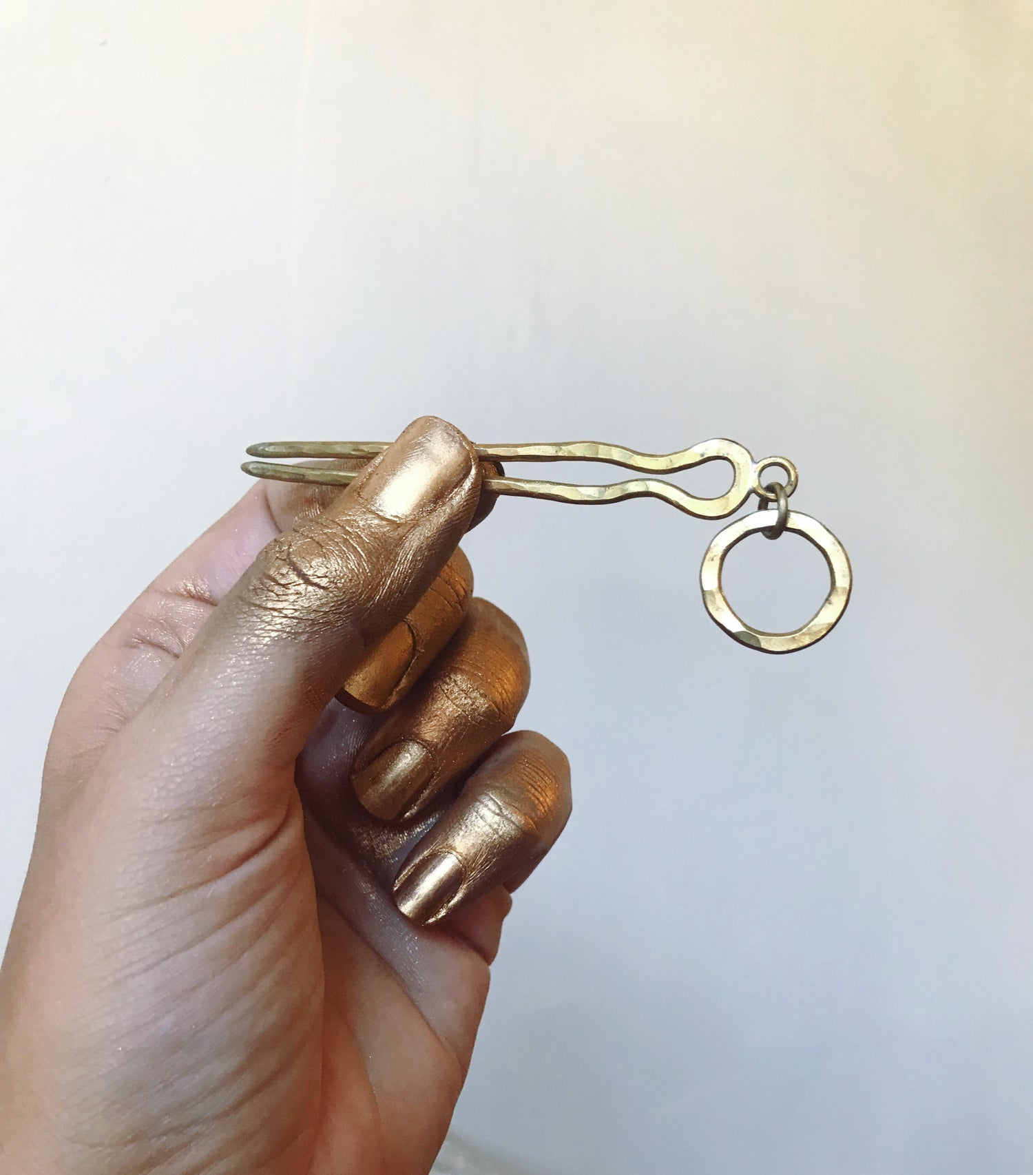 Image of Coin mini hairpin
