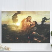 "Image of Modern Kosovka Canvas Painting  - 24"" x 36"""