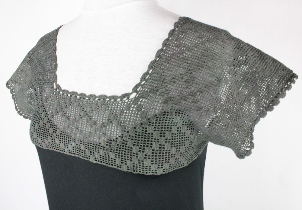Image of Ebony and Charcoal Emma Dress