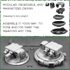 Image of Certamen Mk.2 Light Vehicle Weapons Kit