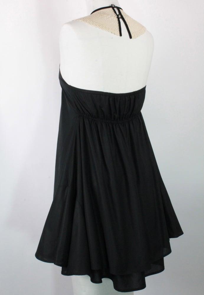 Image of Noir and Cream Monique Dress