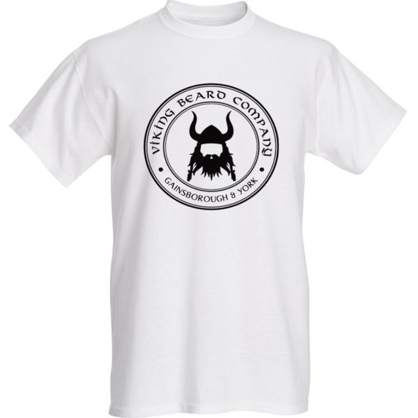 Image of Viking Beard Company White T-Shirt