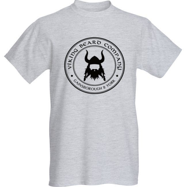 Image of Viking Beard Company Grey T-Shirt