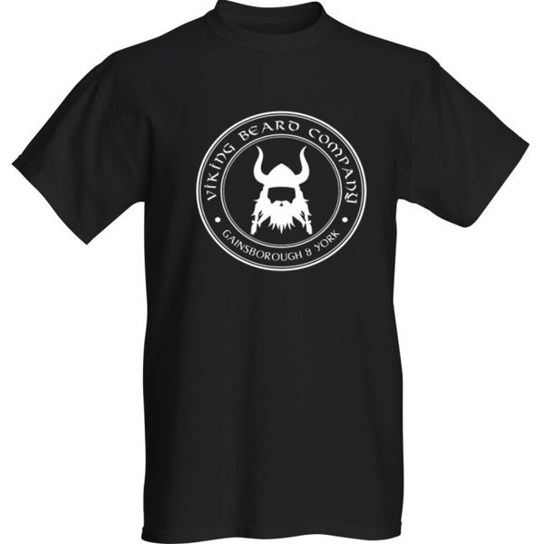 Image of Viking Beard Company Black T-Shirt