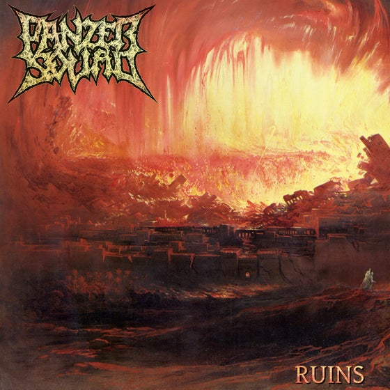 Image of ♰ Panzer Squad • Ruins (CD) ♰
