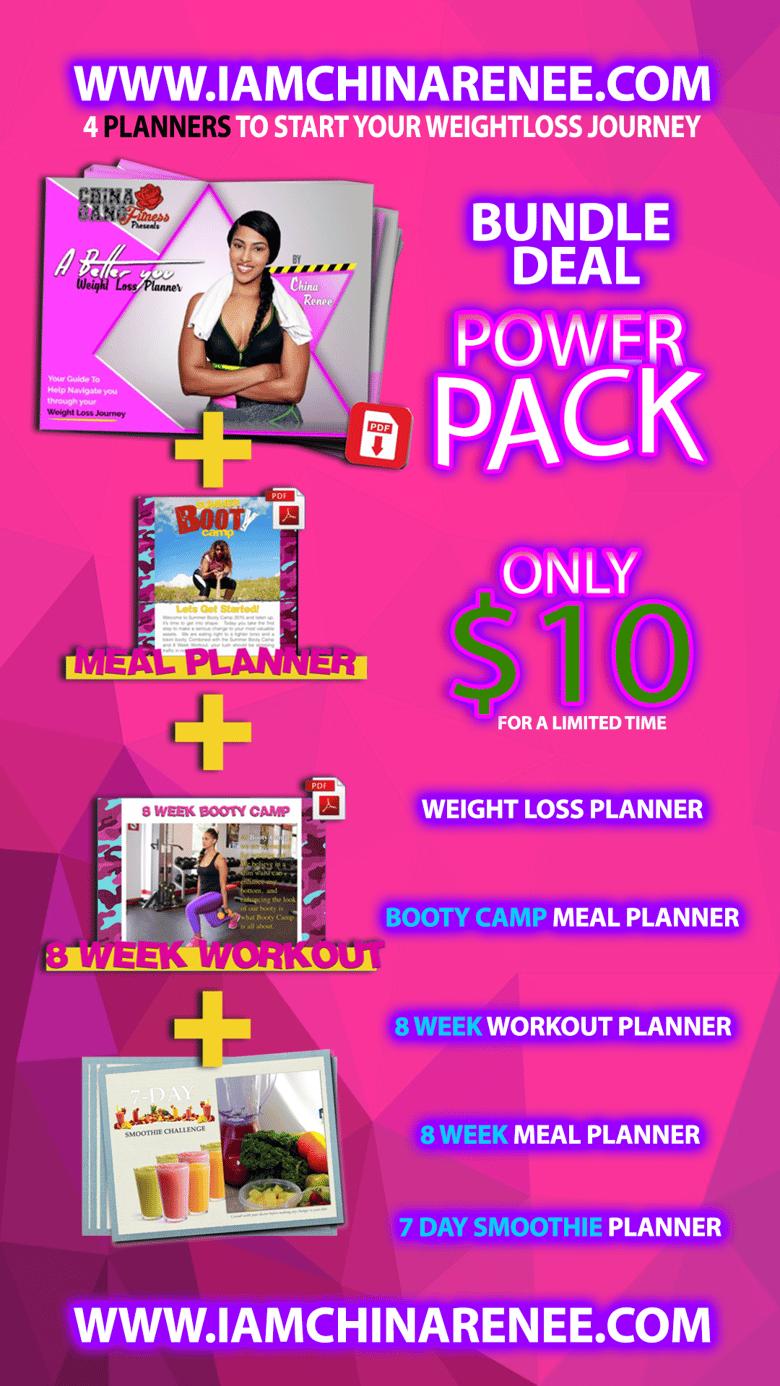 Image of Power PACK- Planner Bundle