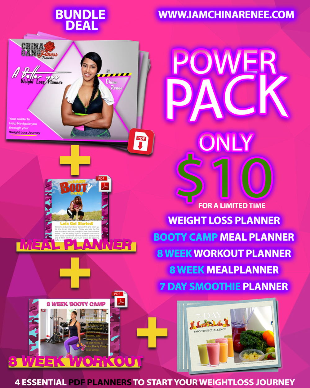 Power PACK- Planner Bundle
