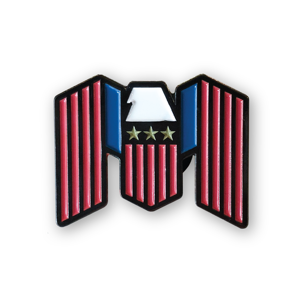 Image of Freedom To Live Enamel Pin