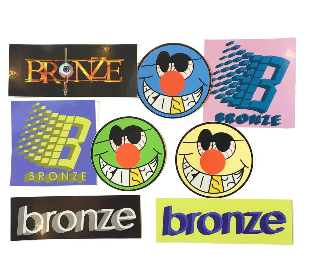 Image of BRONZE STICKER PACK