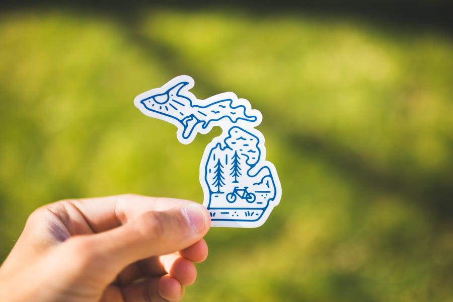 Image of Michigan Sticker