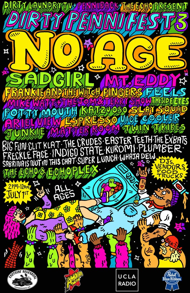Image of DIRTY PENNI FEST 3 POSTER