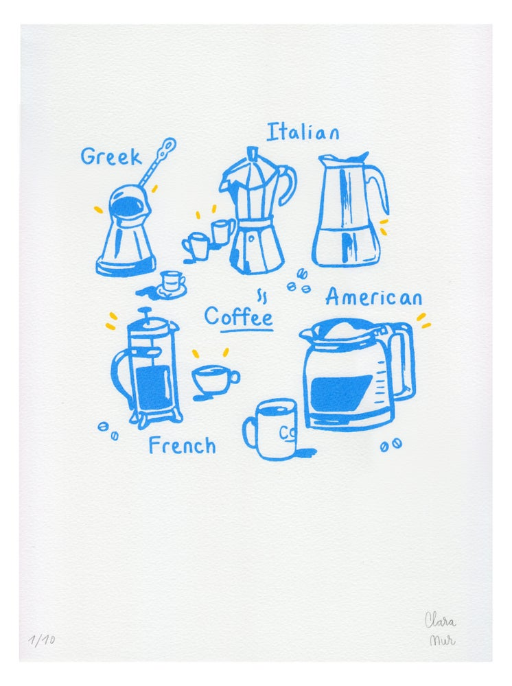 Image of COFFEE BLUE