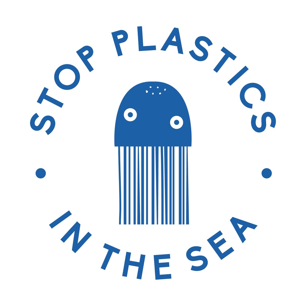 Image of TOTE BAG STOP PLASTICS IN THE SEA