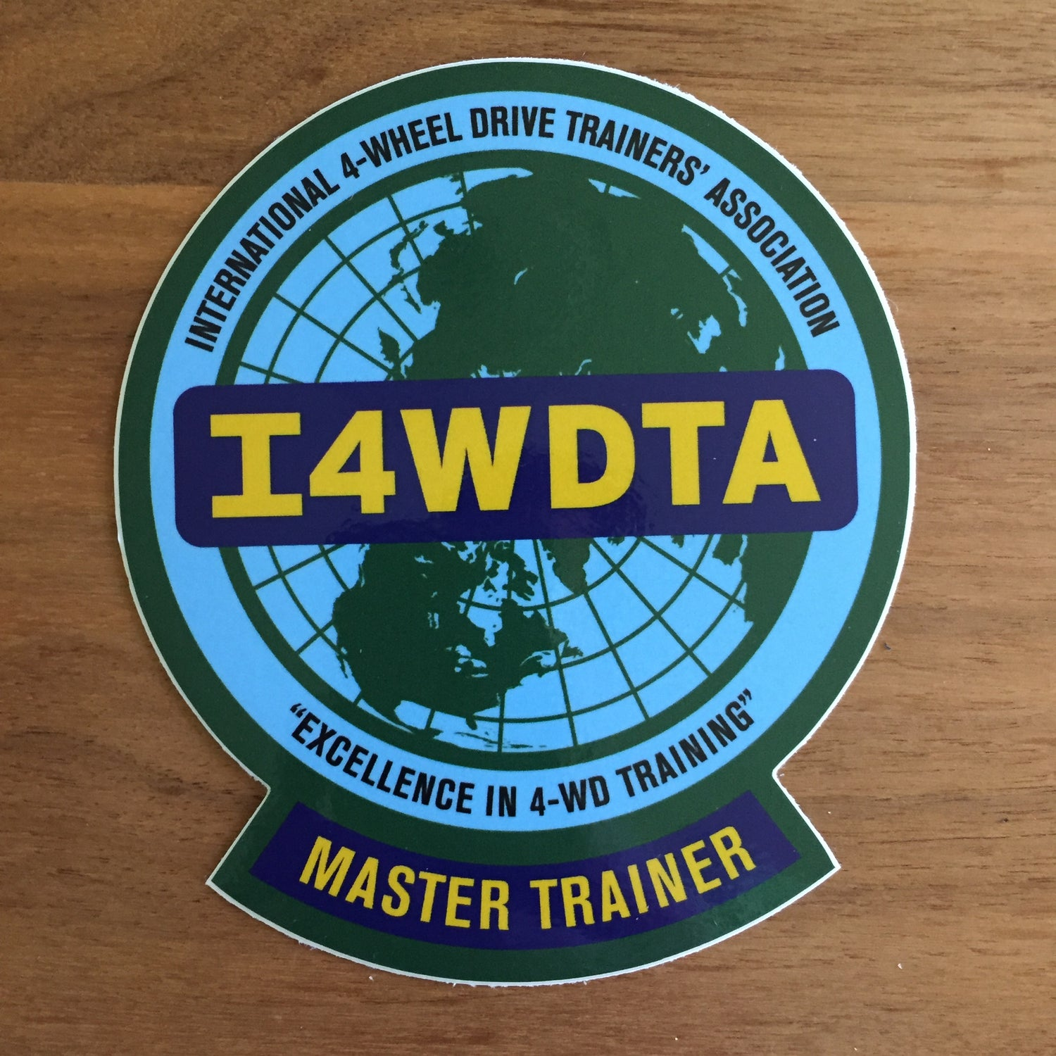 Image of I4WDTA MASTER TRAINER Vinyl Decal