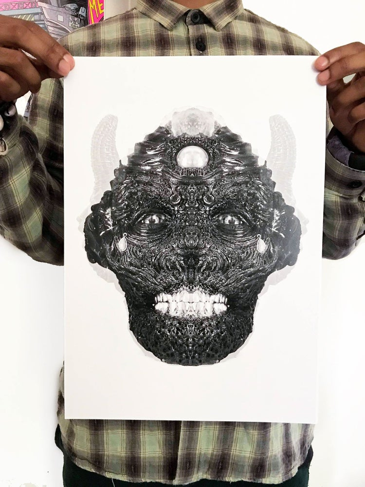 Image of Tar Face Alternate Edit Print