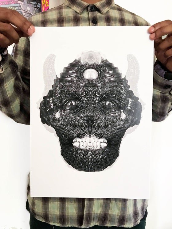 Image of Tar Face Alternate Edit Print
