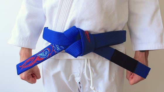 Image of KRAKKEN クラクケン Blue belt