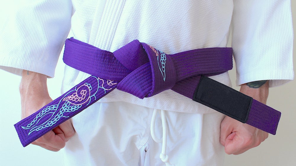 Image of KRAKKEN クラクケン Purple belt