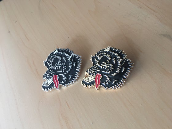 Image of Wolfe Enamel Pin
