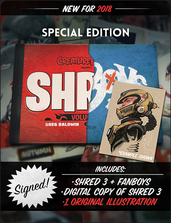 Image of SHRED: Volume 3 Special Edition