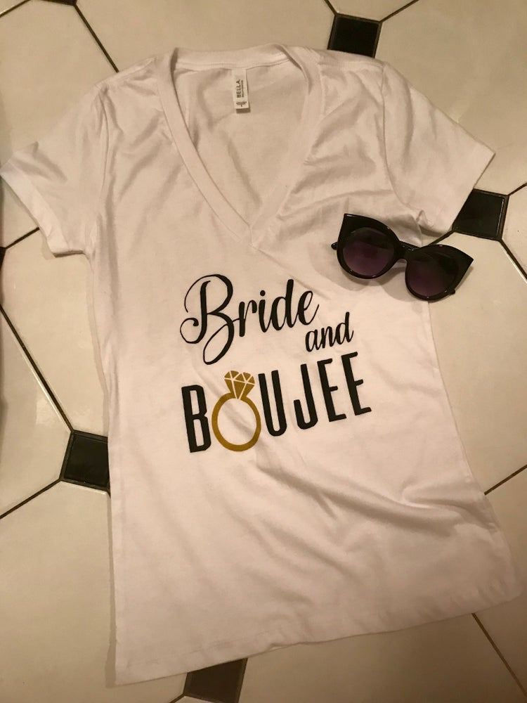 Image of Bride and Boujee T