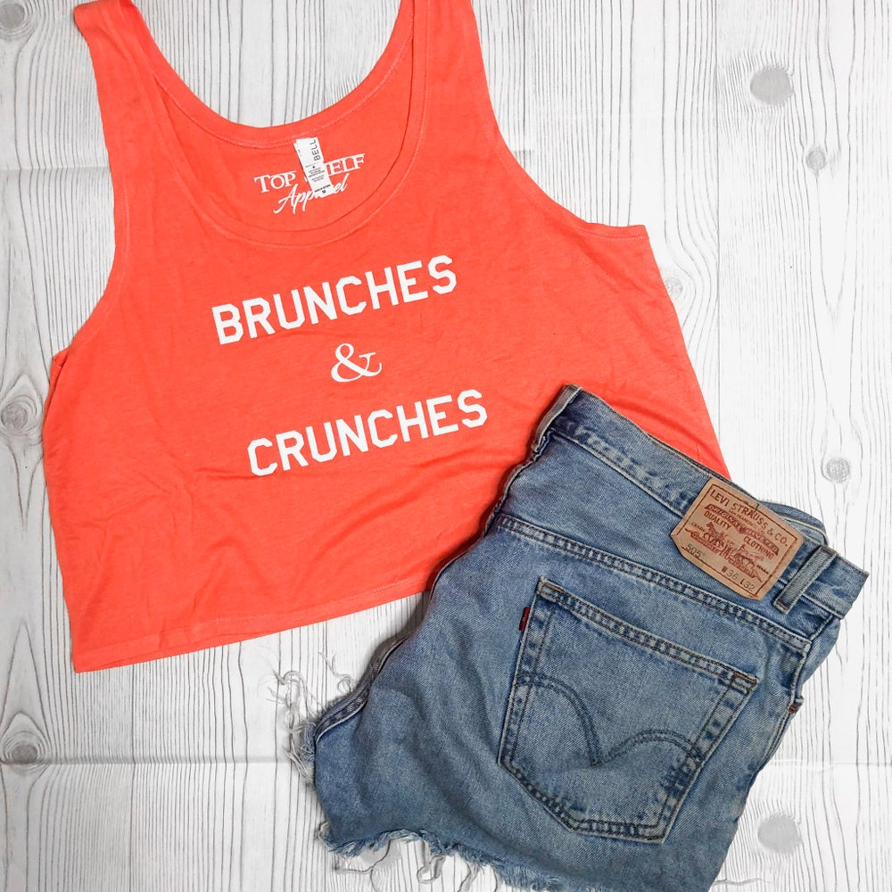 Image of Brunches & Crunches - crop tank