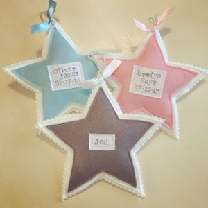 Image of Baby star decoration