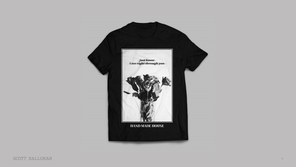 Image of Through You Floral T-Shirt