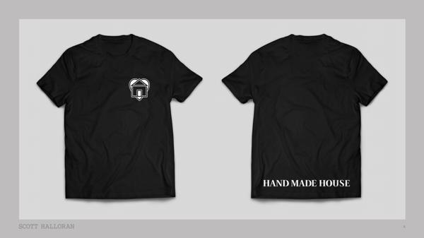 Image of Hand Made House Logo T-Shirt