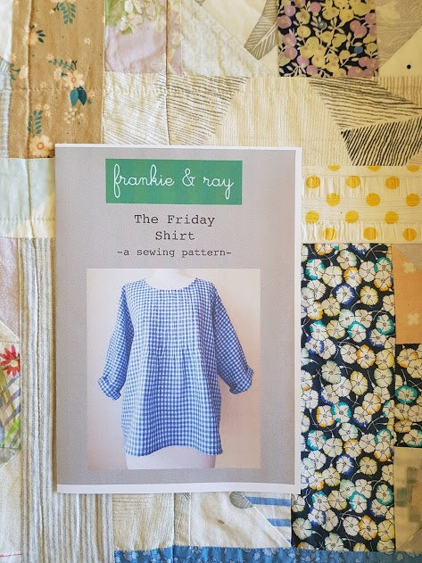 Image of The Friday Shirt - sewing pattern