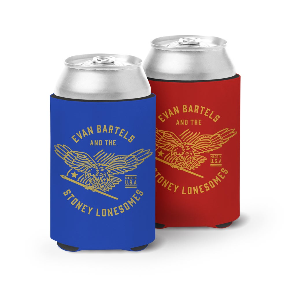 Image of Eagle Can Koozie