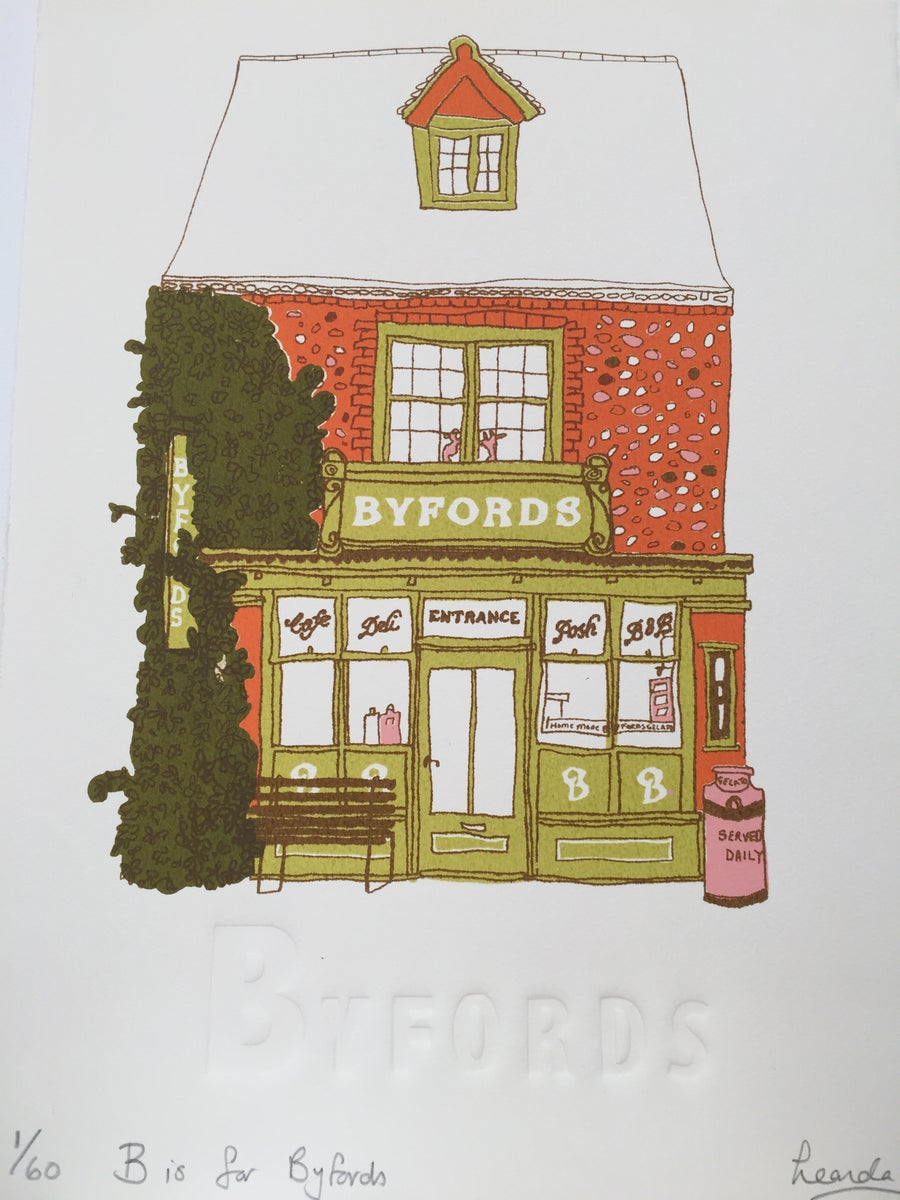 Image of B is for Byfords