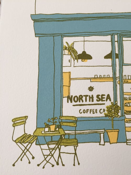 Image of N is for North Sea Coffee