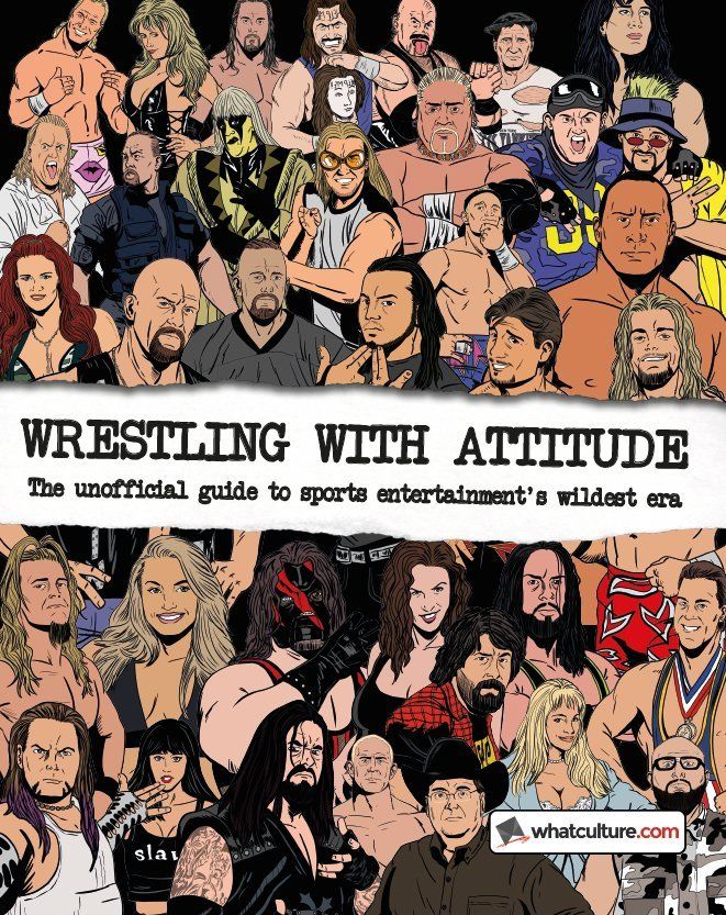 Image of Wrestling With Attitude (Hardcover) The Unofficial Guide To Sports Entertainment