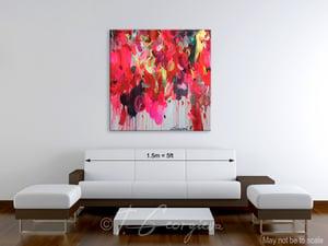 Image of Floralibus - 100x100cm