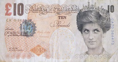 BANKSY - Di Face Tenner (from Dope Gallery)