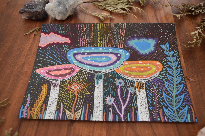 """Image of """"The Fieldtrip"""" - Original Painting"""
